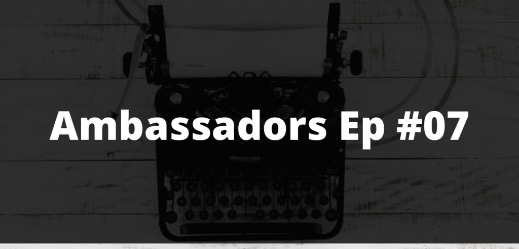 Ambassadors Ep #7: Matthew Remphrey Parallax Design